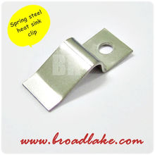 TO 220 clip stainless steel, clip for heat sink, clip heat sink