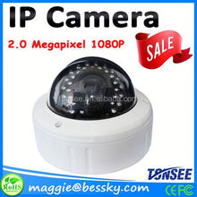 Top 10 Selling High Quality 1080P Metal Dome IP Camera,cctv cameras support android mobile phone view