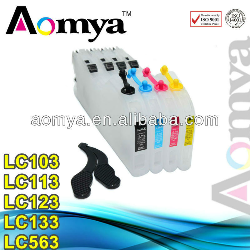 Aomya Factory direct sale ink cartridge for brother lc-103 lc 103