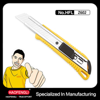special design to ensure best holding feeling of the knife cutter