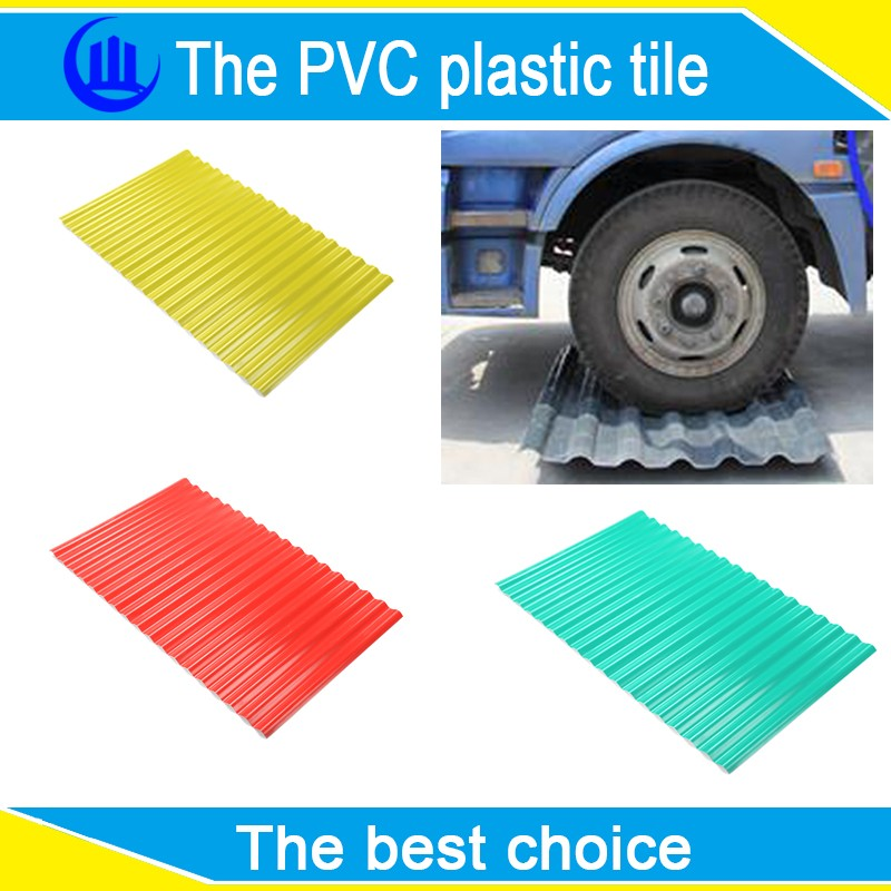 ASA PVC PLASTIC ROOF TILE MOULD / PVC ROOF SHEET / SYNTHETIC RESIN ROOF TILE US $3.5-5 / Square Meter