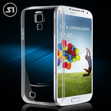 Clear Transparent Soft TPU Silicon Silicone Rubber Phone Bags Cases for Samsung Galaxy S4 mini