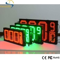 Outdoor Gasoline Price LED Sign 8'' Display/7 Segment Gas Price Sign