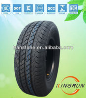 Chinese car tyre 185R14C kingrun brand china car tire