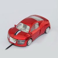 3D Car Shape fancy look Optical USB Wired retractable Mouse, M-026