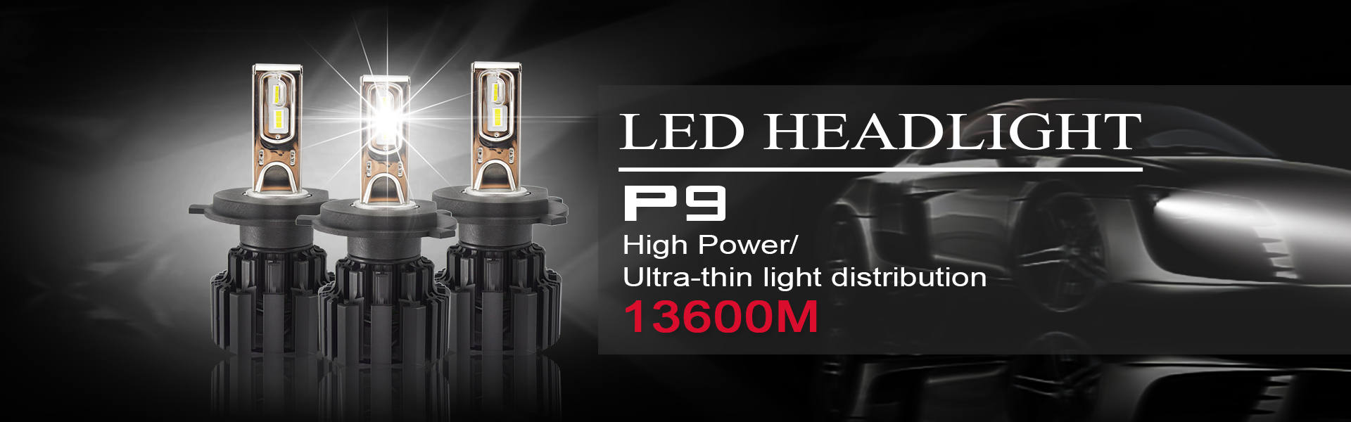 Led car headlight H15 led canbus 100w 6000k Headlight led 10000lm car led headlight h4 h7 h11