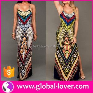 Plus Size Maxi Dresses African Print 2016 African Bodycon Dress