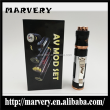 new version AV mod set /e cig mech mod kit with clip ring good quality wholesale price by Marvery