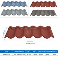high quality enviromental stone coated galvanized roof tile