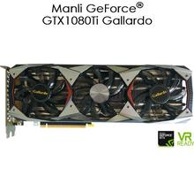 2017 Hot Vga Card Graphics Cards Manli MSI XFX 8G 11GB Gallar Nvidia Geforce GTX 1080 TI For Bitcoin miner Zcash Ethereum Mining