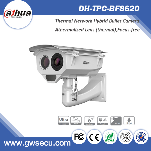 TPC-BF8620 fire detect&alarm Dahua Thermal IP Camera