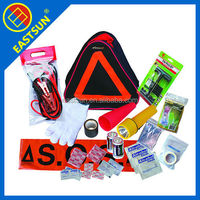 2017 new auto emergency safety kit with safety vest