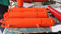 hydraulic cylinder for agricultural pivot plow