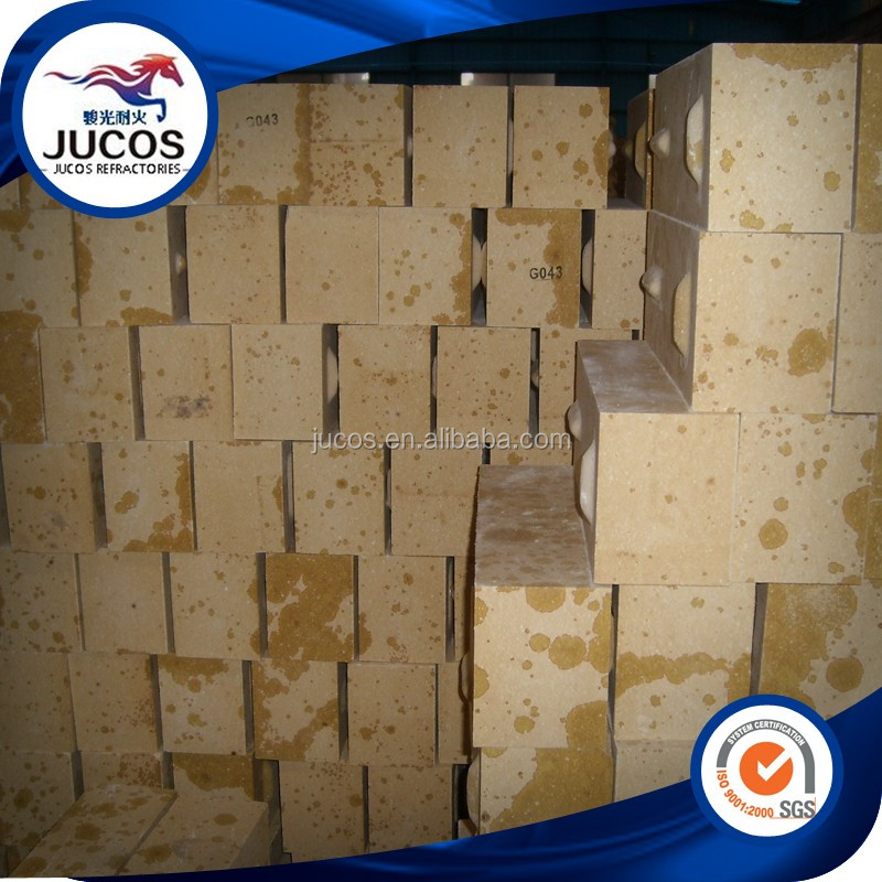 High softening point with temp. silica refractory brick for coke oven, silica brick