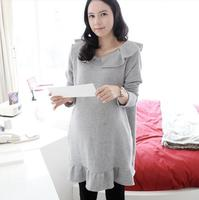 Fashion online wholesale new winter 100 cotton long sleeve breathable elegant new trend maternity clothing