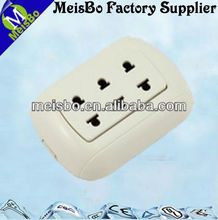 CE American surface mounted external power socket