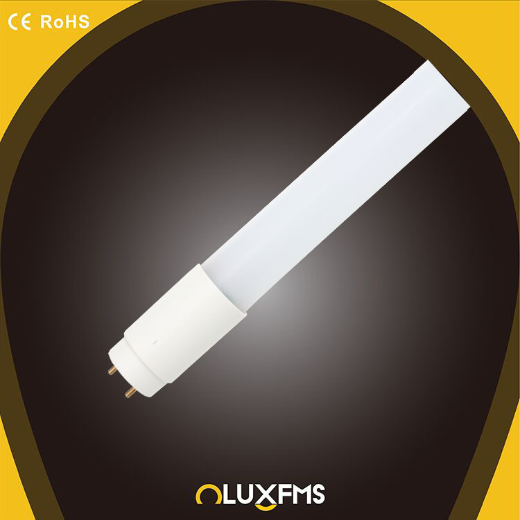LED tube lamp T8 600mm office use 8w 2700-6500K glass tube light