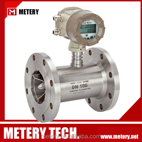 crude palm oil flow meter from Metery Tech.China