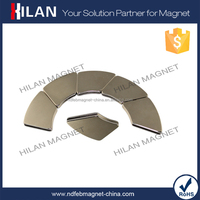 Customized High Quality Strong Rare Earth Material Permanent neodymium curved magnets