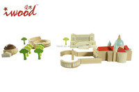 2015 New arrival wooden building blocks puzzle design with Roman type