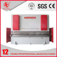 WC67K cnc used hydraulic press brake for door frame procussing