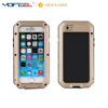 waterproof Gorilla glass Metal cell phone cover for iphone 7plus
