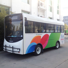 chinese mini solar toyota tourist sightseeing shuttle elelctric bus