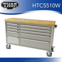 Portable tool boxes with wheels stainless rolling tool chest