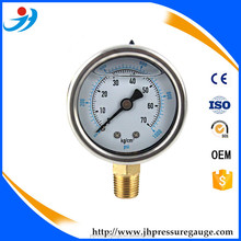 "Y60-PT381 2."" dial bottom connection dry pressure gauge"