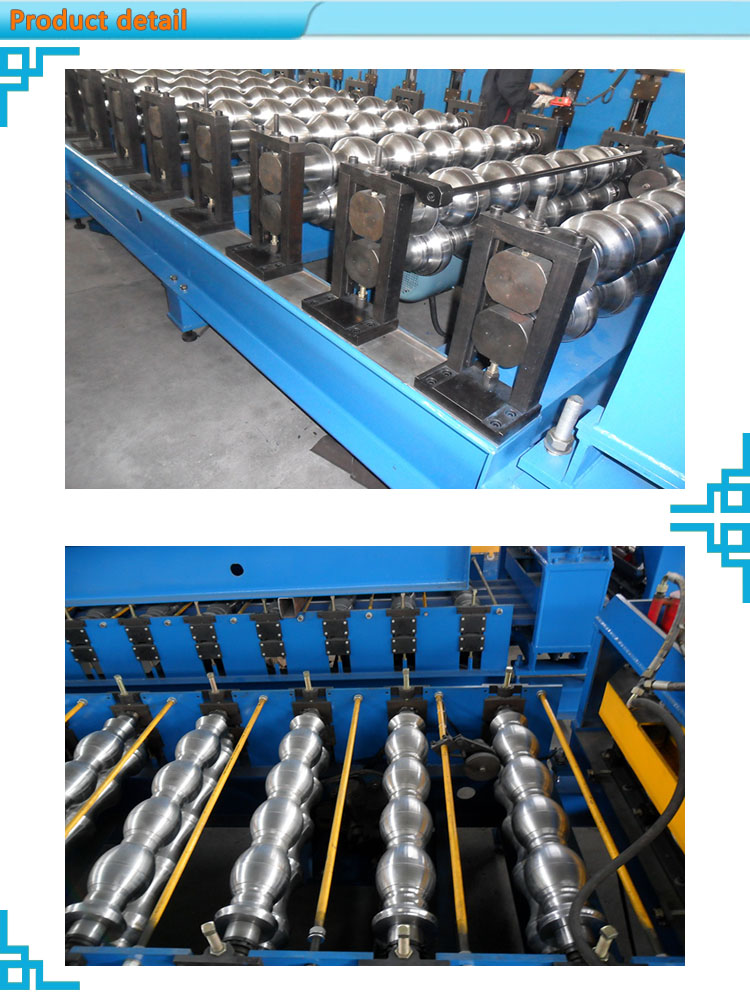 automatic cutting zinc roofing roll forming machine