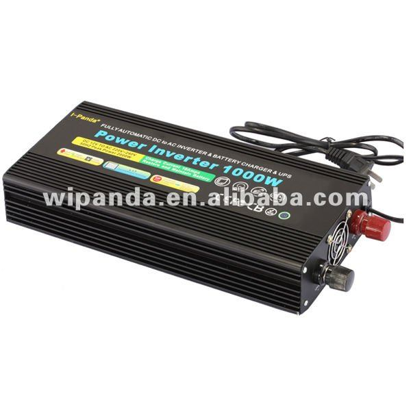 High Quality DC 12V to AC 220V Modified Sine Wave Inverter Power Inverter 1000W with UPS