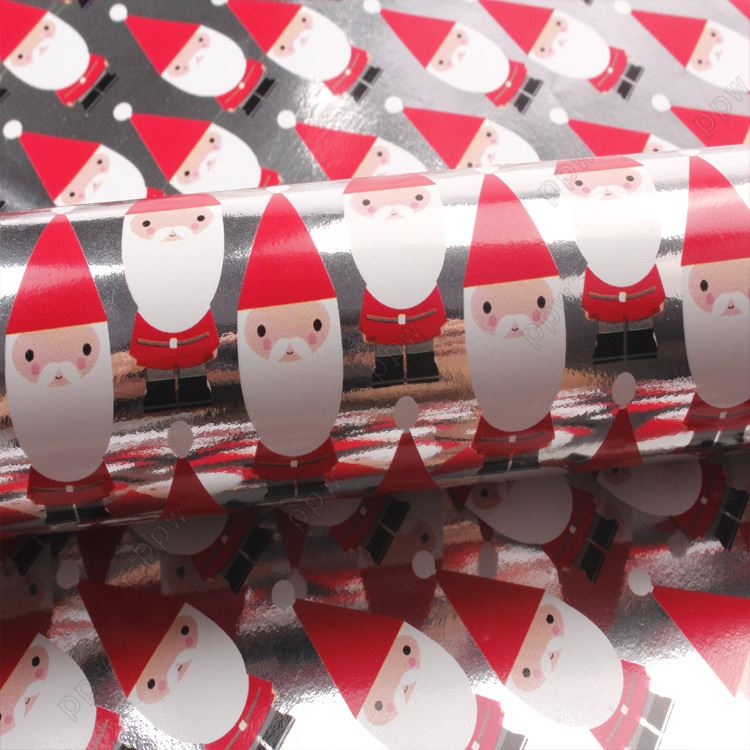 elegant christmas wrapping paper metallic foil - Elegant Christmas Wrapping Paper