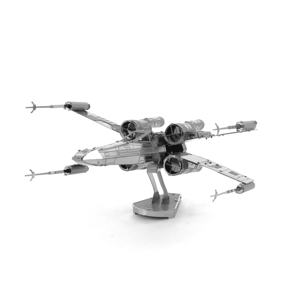 Educational Toys X-wing starfighter 3D Metal Puzzle Magnetic 3d jigsaw puzzles