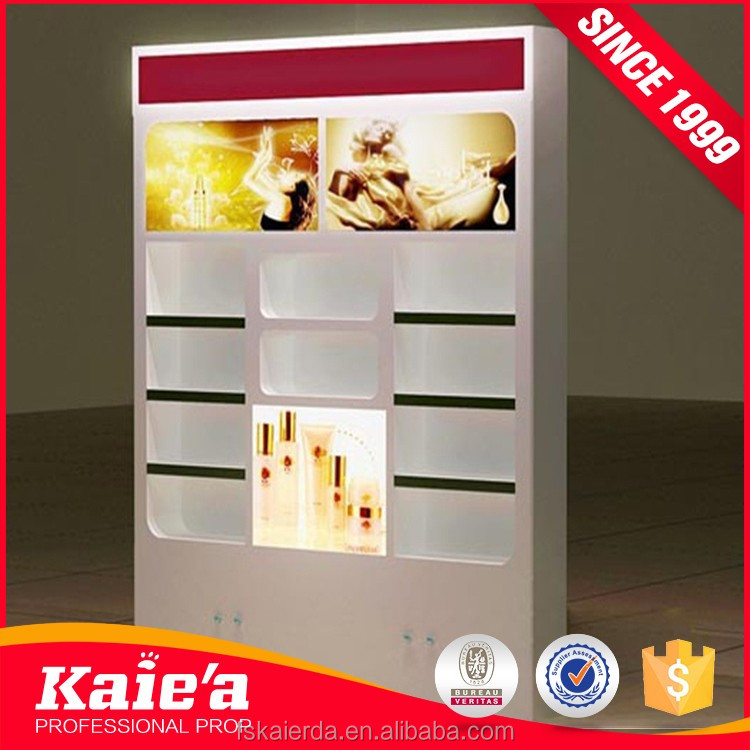 makeup mac cosmetic display stand for cosmetic store