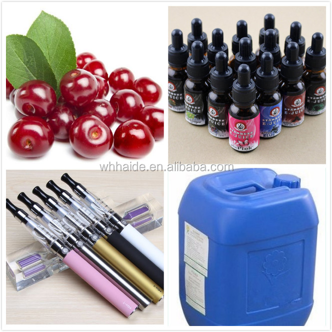 Electronic cigarettes, smoke oil essence, cherry flavor of smoke oil essence