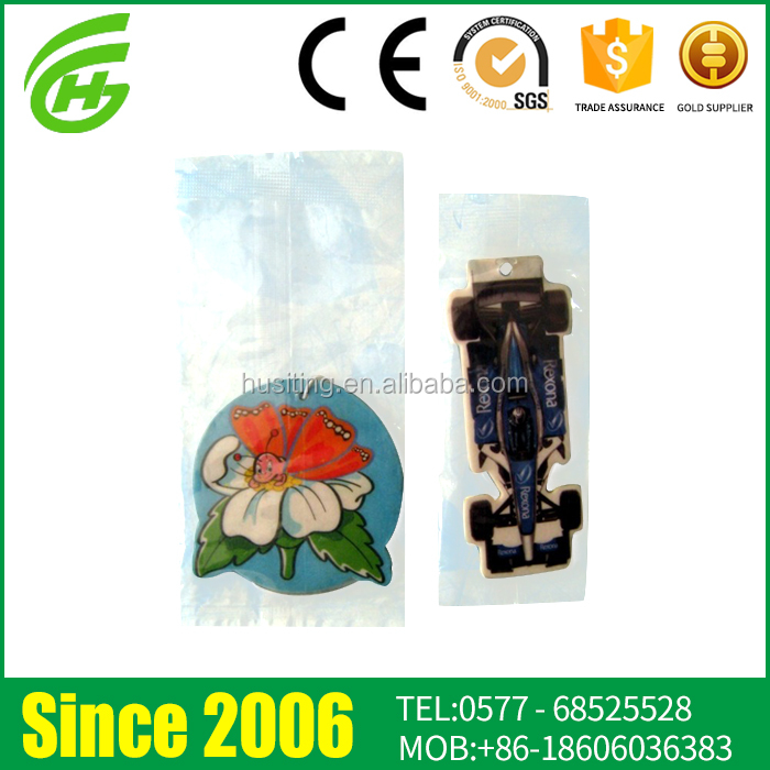 Customized Design Hanging Paper Car Vent Air Freshener