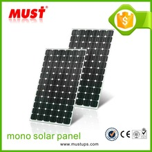 Super quality monocrystalline silicone solar cells for 260W soalr panel