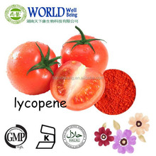 Hot sales 5%~98% Best Quality Natural Tomato Extract Lycopene Supplier