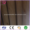 China black waterproof fold window screen mesh