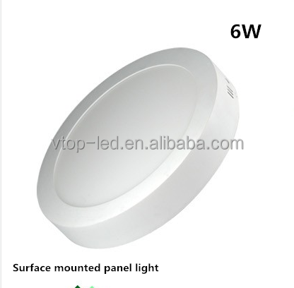 led panel light 6W constant current low heat highly stable performance