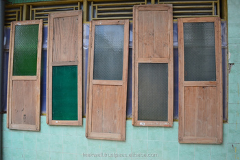 RECYCLED TEAK DOOR