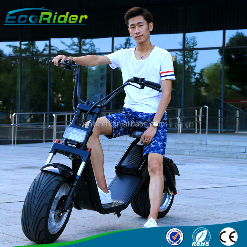 trade assurance hot sale 1200w electric scooter big wheels scooter