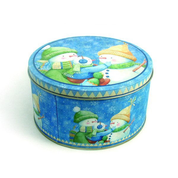 food packing tin cooky jar on sale