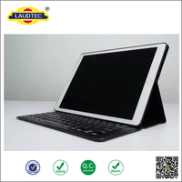 Laptop Style Bluetooth Keyboard For iPad pro , wireless keyboard leather case For iPad Pro
