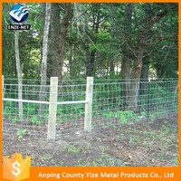 Best sale Durable Hinge Joint Knot Cattle Fence/Australia galvanized goat fence panel for sale (factory sale )