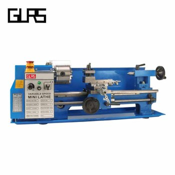 Variable speed mini bench lathe