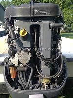4 Stroke 90HP Outboard Engine for Boat Used