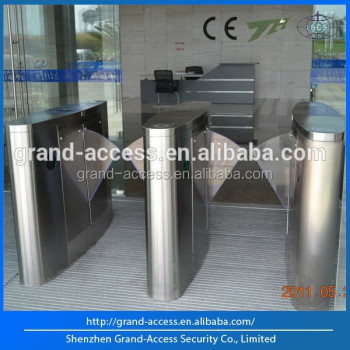 CE Approved Alarm Flap Turnstile with IR Sensor