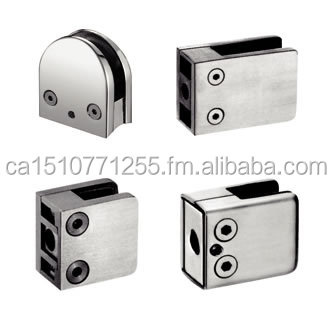 Made in China 201/304 stainless steel glass clamps
