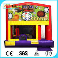 CILE Pretty Cartoon Pinting Inflatable Sports Castle Bouncers for Kids